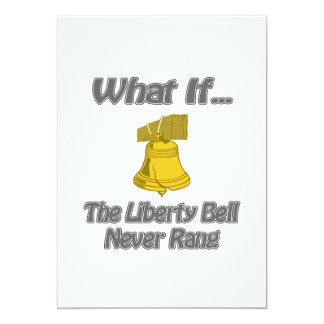 Liberty Bell Rang Personalized Invitations