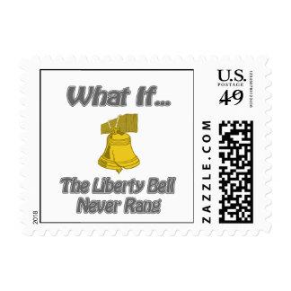 Liberty Bell Rang Stamp