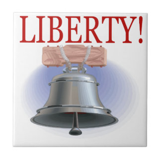 Liberty Bell Small Square Tile