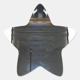 Liberty Bell Star Sticker