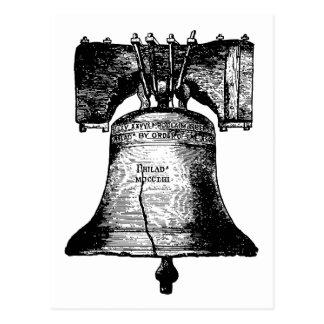 Liberty Bell Tarjeta Postal