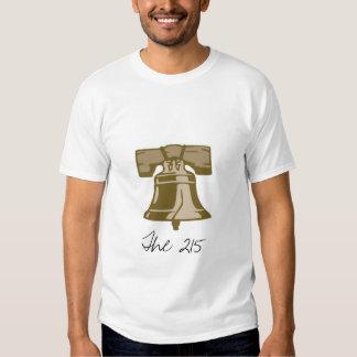 Liberty Bell, The 215 Tee Shirt
