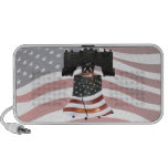 Liberty Bell w/American Flag Notebook Speaker