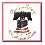 Liberty Bell w/American Flag - Proclaim Liberty Photo Cutouts