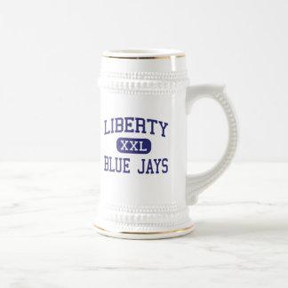 Liberty - Blue Jays - High - Liberty Missouri Coffee Mugs