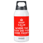 [Crown] keep calm and where the fuck did you come from?!  Liberty Bottles SIGG Thermo 0.3L Insulated Bottle