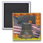 Liberty Burning Magnet
