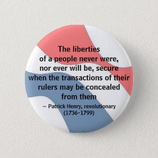 LIBERTY - button