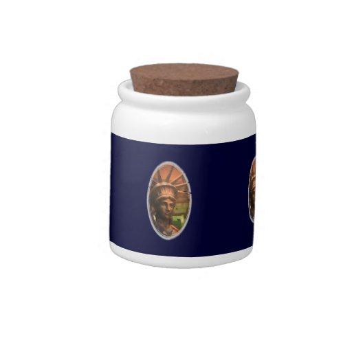 liberty candy jar