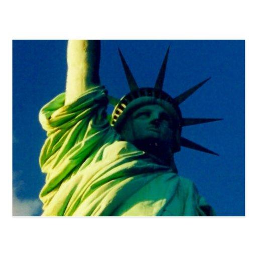 liberty close post card