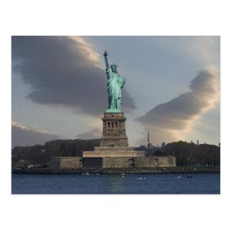 Liberty Clouds Postcard