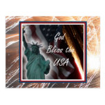Liberty Collage Postcards