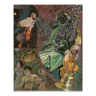 'Liberty Cries' art poster print
