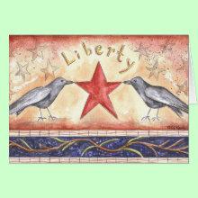 Liberty Crows Card