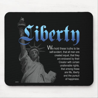 Liberty Declared Mouse Pad