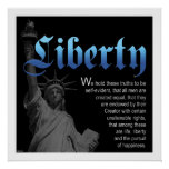 Liberty Declared Poster