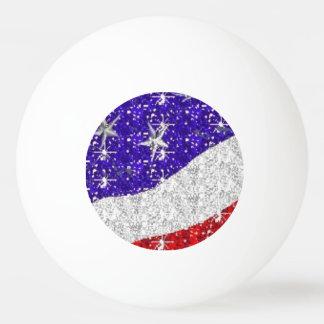 Liberty Dog Ping Pong Balls - Red White Blue Gifts Ping Pong Ball
