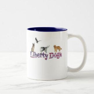 """Liberty Dogs """"Just Say No"""" Mug"""