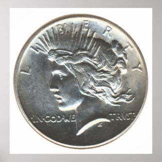 Liberty Dollar Poster