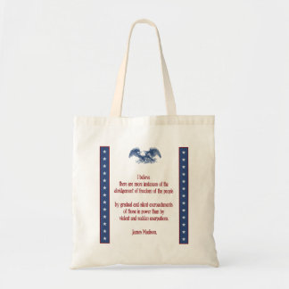 liberty eagle madison tote bag