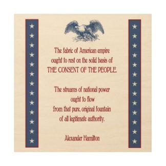 liberty eagle rustic wall plaque Hamilton Wood Wall Art