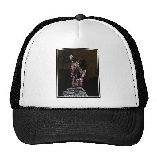 Liberty enlightened trucker hat