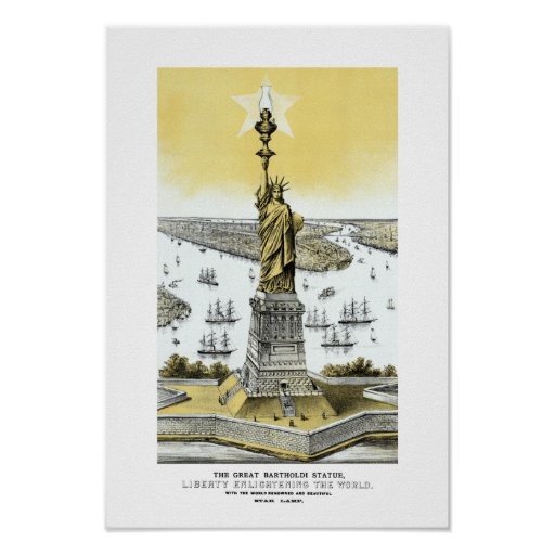 Liberty Enlightening The World Print