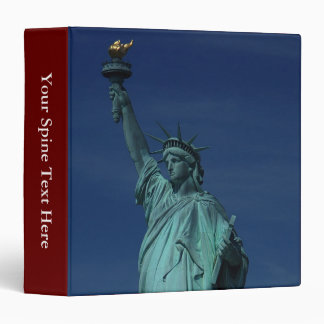 Liberty Enlightening the World - Statue of Liberty 3 Ring Binder