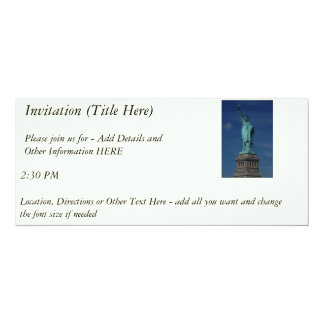 Liberty Enlightening the World - Statue of Liberty Card