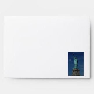 Liberty Enlightening the World - Statue of Liberty Envelope