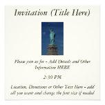 Liberty Enlightening the World - Statue of Liberty Invitations