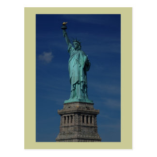 Liberty Enlightening the World - Statue of Liberty Postcard