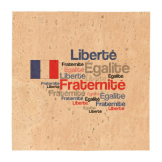 Liberty Equality Fraternity French Bastille Day Coasters