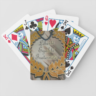 Liberty Equality Fraternity.png Bicycle Playing Cards