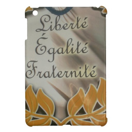 Liberty Equality Fraternity.png iPad Mini Covers