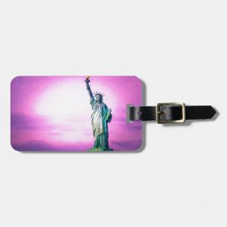 Liberty estatua Nueva York Etiqueta Para Maleta