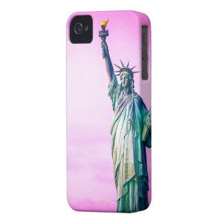 Liberty estatua Nueva York iPhone 4 Case-Mate Carcasas