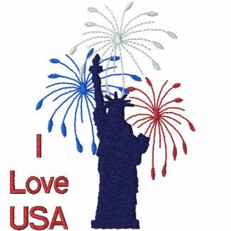 Liberty Fireworks - Customize Embroidered Hooded Sweatshirt