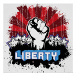 Liberty Fist Posters
