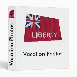 Liberty Flag Vinyl Binders