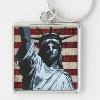 Liberty Flag Keychain
