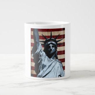 Liberty Flag Large Coffee Mug