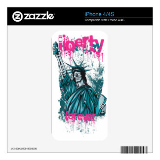 Liberty For Ever iPhone 4 Skins