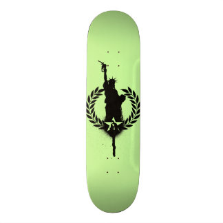 """Liberty For Oil"" Consume Skate Deck"