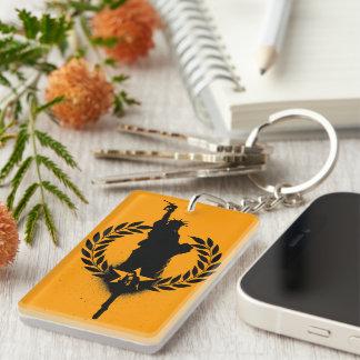 Liberty For Oil Single-Sided Rectangular Acrylic Keychain
