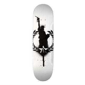 Liberty For Oil Skate Board Deck