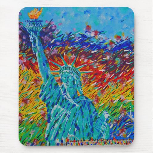 Liberty Freedom Mouse Pad