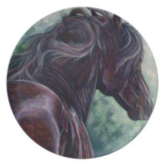 Liberty - Friesian Stallion Plate
