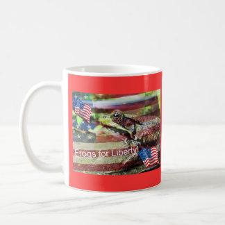 Liberty Frog Coffee Mug