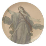 Liberty Goddess Plate